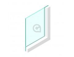 Enkel glas 8 mm