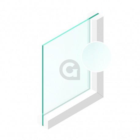 Enkel glas 6 mm Etsglas/Satijnglas