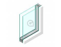 Dubbel glas 4 mm - sp - 4mm
