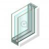 Triple glas HR+++ - #4mm - sp - 4mm - sp - #4mm