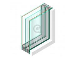 Triple glas HR+++ #44.2 - sp - 6mm - sp - #6mm