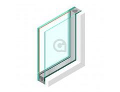 Dubbel glas HR++ 8 mm - sp - #44.2