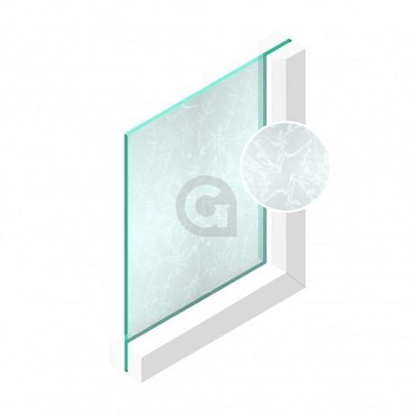 Ijsbloemglas 4 mm