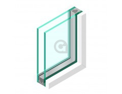 Dubbel glas Geluidswerend 44.2 - sp - 44.2 Rw (C;Ctr) - 42 (-1; -5)