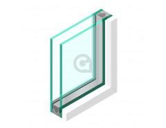 Dubbel glas Brandwerend 33.2 - sp - Pyrobelite 9EG Buitentoepassing