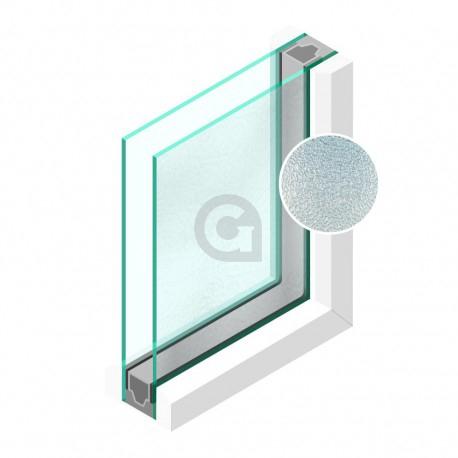 Dubbel glas Figuur Byzanthijn fijn 4 mm - sp - 4mm
