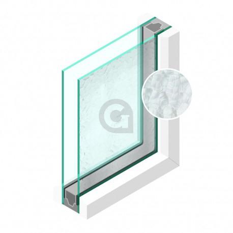 Dubbel glas Figuur Byzanthijn grof 4 mm - sp - 4mm