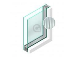 Dubbel glas Figuur Canale blank 4mm - sp - 4mm