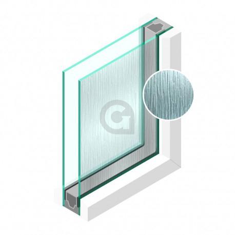 Dubbel glas Figuur Cotswold blank 4mm - sp - 4mm