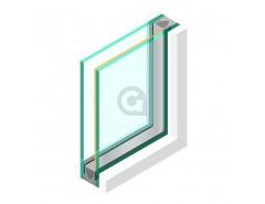 Dubbel glas ZHR++ 33.2 gelaagd Zonwerend 70/37 - sp - 33.1