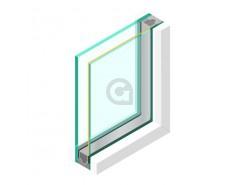 Dubbel glas ZHR++ 6mm Zonwerend 70/37 - sp - 33.1