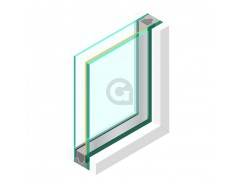Dubbel glas ZHR++ 33.2 gelaagd Zonwerend 69/37 - sp - 4mm