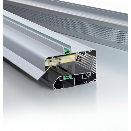 Ventilatierooster GlasMax 20 ZR Naturel / F1 (aluminium kleur)