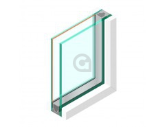 Dubbel glas HR++ 55.2 - sp - #6mm