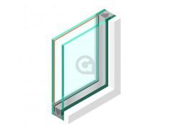 Dubbel glas Geluidswerend HR++ 44.2 - sp - #33.2 Rw (C;Ctr) - 41 (-1; -5)