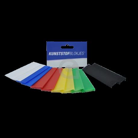 Glasblokjes assorti 18,5mm voor enkel- en isolatieglas tot 13mm