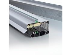 Ventilatierooster GlasMax 25 Naturel / F1 (aluminium kleur)