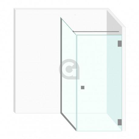 Douchecabine 900x2000mm Helder Glas