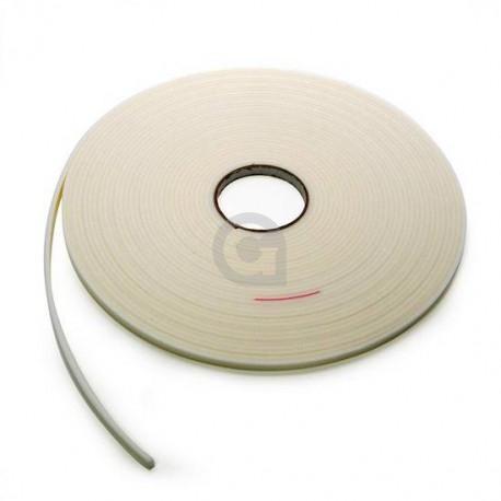 Beglazingsband Wit 2x9 mm (25 mtr)