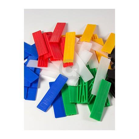 Glasblokjes 24x100mm Assorti (voor 1 ruit)