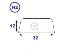 Opdeklat 12x32mm