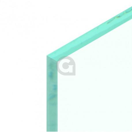 Afscherpen randen - float, verzilverd